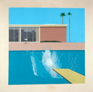David Hockney, A Bigger Splash, 1967. Acryl on canvas, 96 x 96 © David Hockney, Collection: Tate Gallery, London, 2011