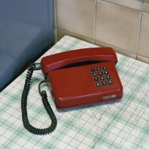 Darek Fortas | Coal Story | Still Life V (Red Telephone)