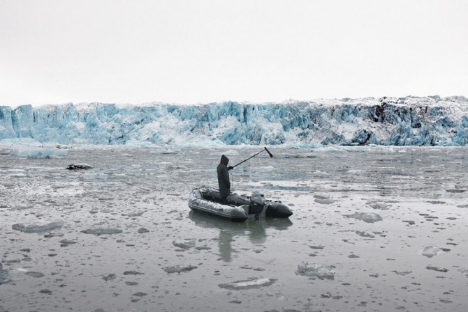 Andrea Galvani, Higgs Ocean #12, 2010, C-print mounted on aluminum dibond wood white frame, 108 X 155 cm, Courtesy of the artist and Meulensteen Gallery, New York