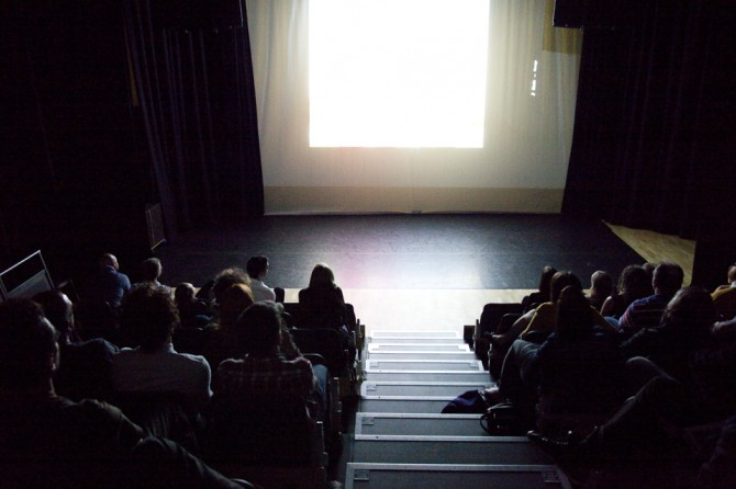 Screening night at the Crescent Arts Center Belfast / June 8th 2013